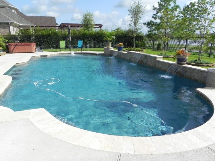 Geometric pools cypress geometric swimming pools for Swimming pool financing
